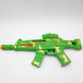 Operated Plastic Toy Gun 005