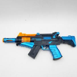 Operated Plastic Toy Gun 006