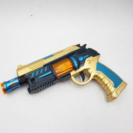 Operated Plastic Toy Gun 007